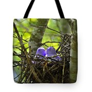 Purple Peeps Pair Tote Bag by Al Powell Photography USA