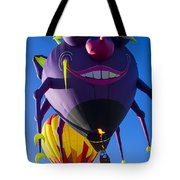 Purple people eater and friend Tote Bag by Garry Gay