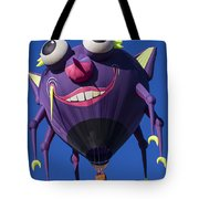 Purple people eater Tote Bag by Garry Gay