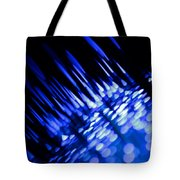 Purple Rain Tote Bag by Dazzle Zazz