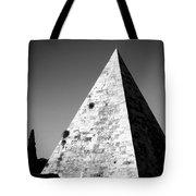 Pyramid Of Cestius Tote Bag by Fabrizio Troiani
