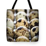 Quail Eggs Tote Bag by Elena Elisseeva