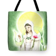 Quan Yin Tote Bag by Keiko Katsuta