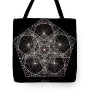 Quantum Star II Tote Bag by Jason Padgett