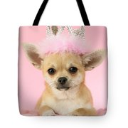Queen Chihuahua Tote Bag by Greg Cuddiford