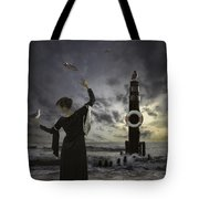 Queen Of The Seagulls Tote Bag by Joana Kruse