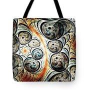 Quorum Sense Tote Bag by Anastasiya Malakhova