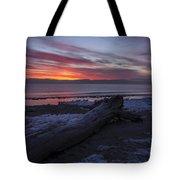 Radiant Rise Tote Bag by CJ Schmit