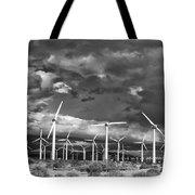 Rage Of The Wind Palm Springs Tote Bag by William Dey