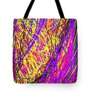 Rainbow Divine Fire Light Tote Bag by Daina White