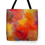 Rainbow Passion - Abstract - Digital Painting Tote Bag by Andee Design