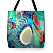 Rainbow Play Tote Bag by Anastasiya Malakhova