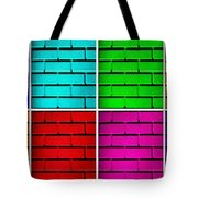 Rainbow Walls Tote Bag by Semmick Photo