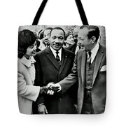 Rallying Support Tote Bag by Benjamin Yeager