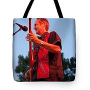 Randy Reis On Bass - The Fabulous Kingpins Tote Bag by David Patterson