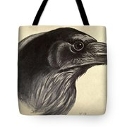 Raven Tote Bag by Philip Ralley