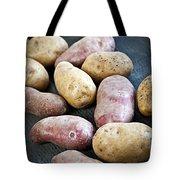 Raw Potatoes Tote Bag by Elena Elisseeva