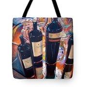 Raymond Vineyards Crystal Cellar Tote Bag by Donna Tuten