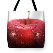 Red Apple Top Tote Bag by John Rizzuto