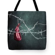 Red Balloon Tote Bag by Joana Kruse