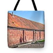 Red Brick Bard Tote Bag by Tom Gowanlock