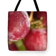 Red Grapes Tote Bag by Marian Palucci