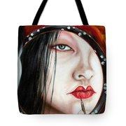 Red Tote Bag by Hiroko Sakai