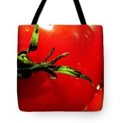 Red Hot Tomato Tote Bag by KAREN WILES