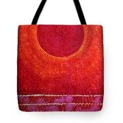 Red Kachina Original Painting Tote Bag by Sol Luckman