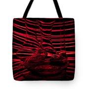 Red Rhythm IIi Tote Bag by Davorin Mance
