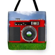 Red Robin Tote Bag by Mike McGlothlen