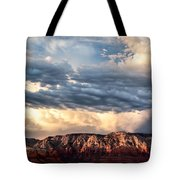 Red Rocks Of Sedona Tote Bag by Dave Bowman