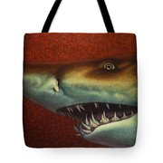Red Sea Shark Tote Bag by James W Johnson