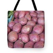 Red Skin Potatoes Stall Display Tote Bag by JPLDesigns