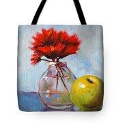 Red Still  Tote Bag by Nancy Merkle
