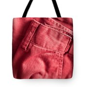 Red Trousers Tote Bag by Tom Gowanlock