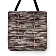 Reed Fence Tote Bag by Tom Gowanlock