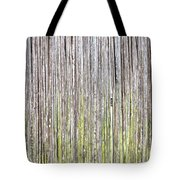 Reeds Background Tote Bag by Tom Gowanlock
