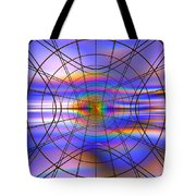 Reentry At Dusk Tote Bag by Andreas Thust