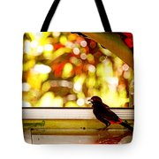 Reflecting on Beauty Tote Bag by Peggy Collins