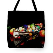 Reflections Of Glass 2 Tote Bag by Cheryl Young