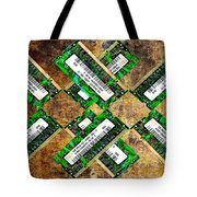 Refresh My Memory - Computer Memory Cards - Electronics - Abstract Tote Bag by Andee Design