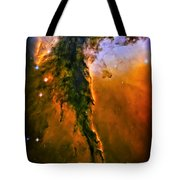 Release - Eagle Nebula 3 Tote Bag by The  Vault - Jennifer Rondinelli Reilly