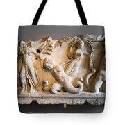 Relief Depicting Gigantomachy Tote Bag by Artur Bogacki