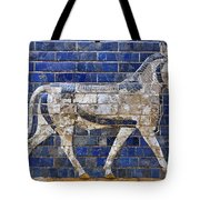 Relief From Ishtar Gate In Babylon Tote Bag by Robert Preston