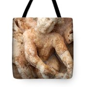 Relief Of A Cherub Tote Bag by Tracey Harrington-Simpson