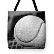 Remember The White Tennis Ball Tote Bag by Kaye Menner