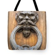 Renaissance Door Knocker Tote Bag by Melany Sarafis