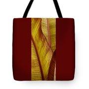 Repose - Leaf Tote Bag by Ben and Raisa Gertsberg