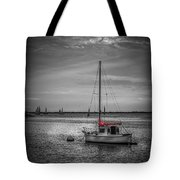 Rest Day b/w Tote Bag by Marvin Spates